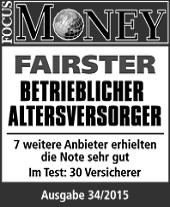Fairster bAV Versicherer